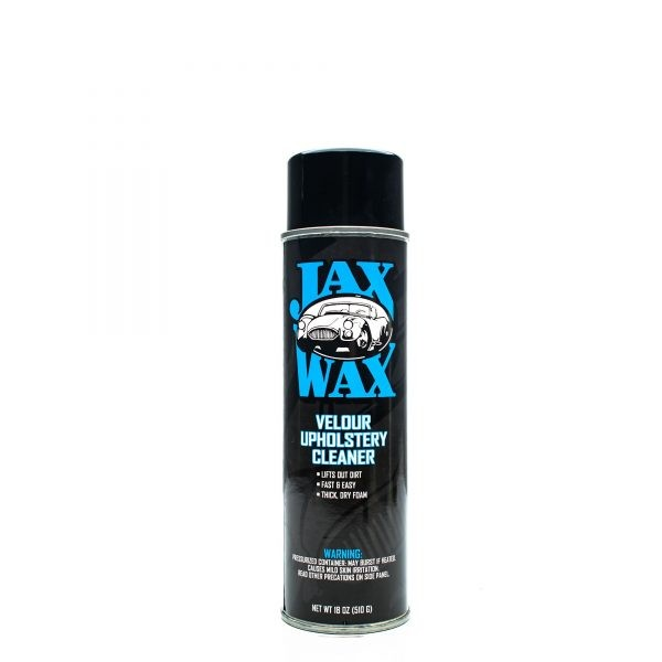 Jax Wax Velour Upholstery Cleaner